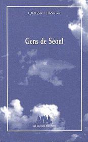 Gens De Seoul - Couverture - Format classique
