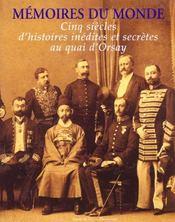 Memoires Du Monde - Intérieur - Format classique