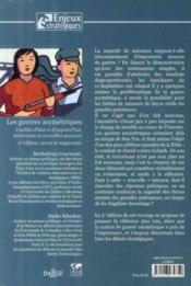 Les guerres asymétriques ; conflits d'hier et d'aujourd'hui ; terrorisme et nouvelles menaces (2e édition) - 4ème de couverture - Format classique