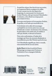 Ukumbusho ; la mémoire de la forêt - 4ème de couverture - Format classique