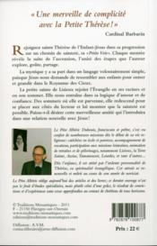Je m'élance avec confiance ; Thérèse de l'Enfant-Jésus de la Sainte Face - 4ème de couverture - Format classique