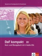 DAF Kompakt ; allemand ; b1 ; livre de l'élève + 2 cd - Couverture - Format classique