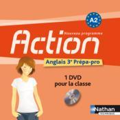 Action anglais 3eme prepa-pro a2 1 dvd 2012 - Couverture - Format classique
