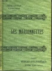 Les Marionnettes. - Couverture - Format classique