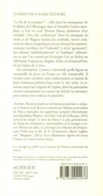 Verdi-Wagner ; imaginaire de l'opéra et identités nationales - 4ème de couverture - Format classique