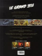 Le grand jeu t.4 à t.6 - 4ème de couverture - Format classique