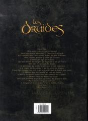 Les druides ; INTEGRALE VOL.1 ; T.1 A T.6 - 4ème de couverture - Format classique