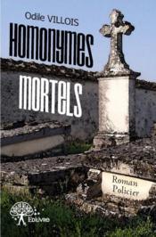 Homonymes mortels - Couverture - Format classique
