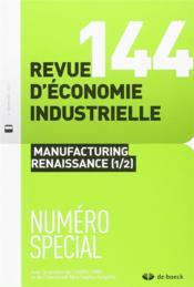 Revue d'économie industrielle N.144 - Couverture - Format classique