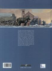 Ambulance 13 ; intégrale t.1 et t.2 ; complete story - 4ème de couverture - Format classique