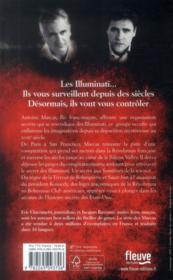 Le règne des Illuminati - 4ème de couverture - Format classique