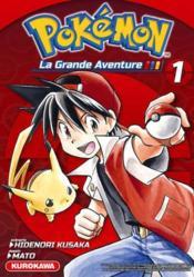 Pokémon ; la grande aventure T.1 - Couverture - Format classique