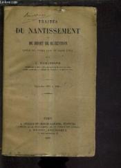 Traites Du Nantissement Et Du Droit De Retention - Livre Iii Titre Xvii Du Code Civile - (Artcile 2071 A 2091). - Couverture - Format classique