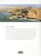Saint-Exupéry T.1 ; le seigneur des sables - 4ème de couverture - Format classique