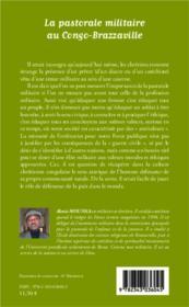 Pastorale militaire au Congo-Brazzaville - 4ème de couverture - Format classique