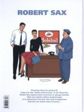 Robert Sax T.1 ; Nucléon 58 - 4ème de couverture - Format classique