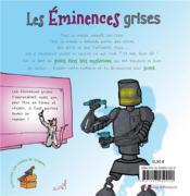 Les éminences grises - 4ème de couverture - Format classique
