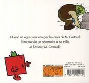 Monsieur Costaud et l'ogre - 4ème de couverture - Format classique