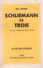 Shliemann de Troie - Couverture - Format classique