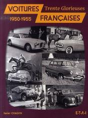 Voitures françaises, 1950-1955 ; trente glorieuses - Intérieur - Format classique