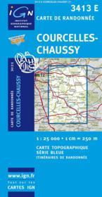 Courcelles, Chaussy - Couverture - Format classique