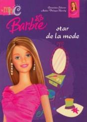 Barbie star de la mode - Couverture - Format classique
