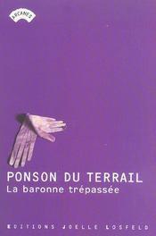 La Baronne Trepassee - Intérieur - Format classique