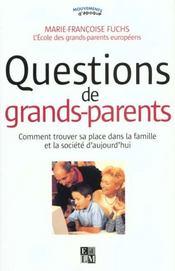 Questions De Grands-Parents - Intérieur - Format classique
