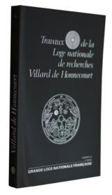 Travaux de la loge nationale de recherches Villard de Honnecourt n°20 - Couverture - Format classique
