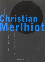 Christian merlhiot (+ dvd) - Intérieur - Format classique