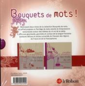 Coffret bouquets de mots - 4ème de couverture - Format classique