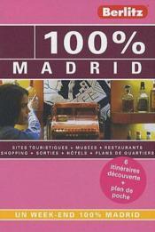 100% ; Madrid - Couverture - Format classique