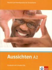Aussichten ; allemand ; a2 ; livre de l'élève + cd audio - Couverture - Format classique
