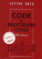 telecharger Code de procedure civile (edition 2012) livre PDF/ePUB en ligne gratuit