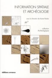 Information spatiale et archéologie - Couverture - Format classique