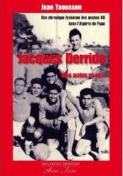 Jacques Derrida, Mes Potes Et Moi - Couverture - Format classique