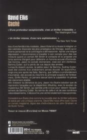 Caché - 4ème de couverture - Format classique