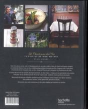 Le Chardenoux des Prés ; la cuisine de mon bistrot - 4ème de couverture - Format classique