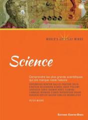 Science ; comprendre les plus grands scientifiques qui ont marqué notre histoire - Couverture - Format classique