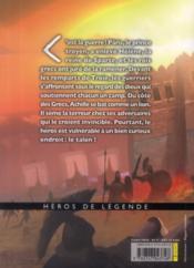 Achille - 4ème de couverture - Format classique