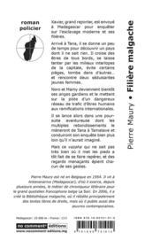 Filière malgache - 4ème de couverture - Format classique