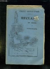 Reclame De Biarn Et Gascougne N° 11 Aoust 1929. Texte En Gascon. - Couverture - Format classique