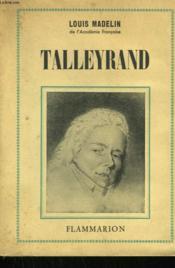 Talleyrand. - Couverture - Format classique