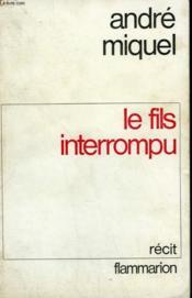 Le Fils Interrompu. - Couverture - Format classique