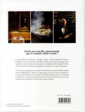 Les grandes tables de Paris - 4ème de couverture - Format classique