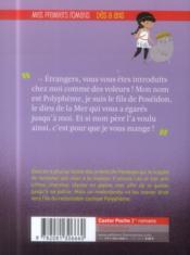 Les agents secrets de l'Olympe T.3 ; dans l'antre du cyclope - 4ème de couverture - Format classique