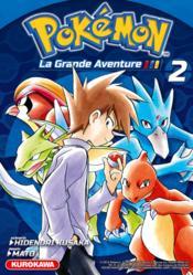 Pokémon ; la grande aventure T.2 - Couverture - Format classique