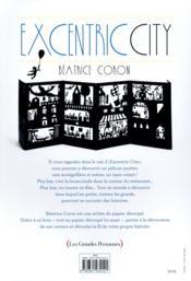 Excentric city - 4ème de couverture - Format classique