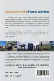 Hors-série ; octobre-novembre 2014 ; dolmens et menhirs d'Europe - 4ème de couverture - Format classique