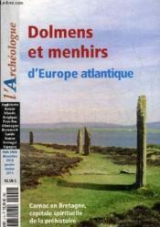 Hors-série ; octobre-novembre 2014 ; dolmens et menhirs d'Europe - Couverture - Format classique